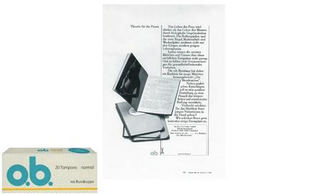 Imagine care conține poza produsului într-un nou ambalaj și o broșură cu informații despre corpul feminin şi răspunsuri la întrebări legate de menstruaţie şi igienă intimă.